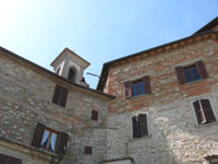 Old town of Monterchi